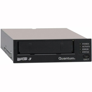 Quantum LTO-3 HH 1U Rackmount 5.25&quot; SAS Tape Drive, Black *Kit*
